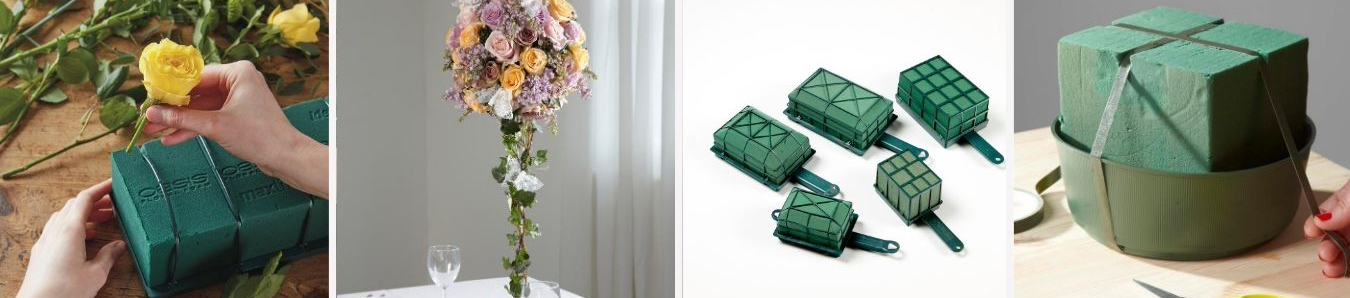 Green Floral Foam